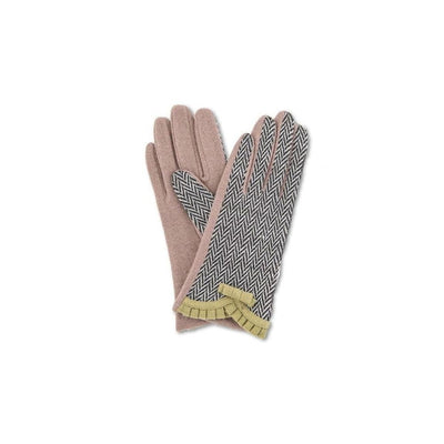 Victoria Wool Gloves-Discontinued-Moss-Tegen Accessories