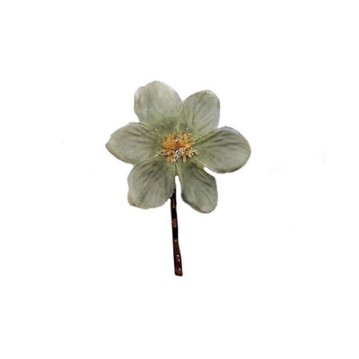 Vintage Flower Hair Grip-Discontinued-Large-Tegen Accessories