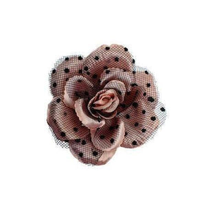 Vintage Pink Rose Hair Flower-Hair flowers-Rosie Fox-Pink-Tegen Accessories