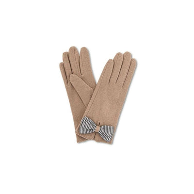 Violet Wool Gloves-Discontinued-Camel-Tegen Accessories