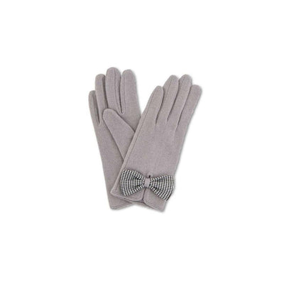 Violet Wool Gloves-Discontinued-Slate-Tegen Accessories