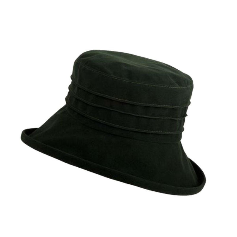Water Resistant Pin-Tuck Velour Hat-Hats-Proppa Toppa-Wine-Tegen Accessories