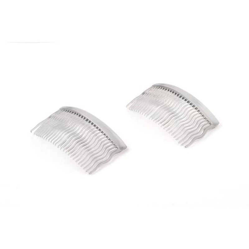 Waved Hair Combs-Hair combs-Essentials-Grey-Tegen Accessories