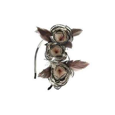 Woodland Feather Fascinator-Discontinued-Tegen Accessories