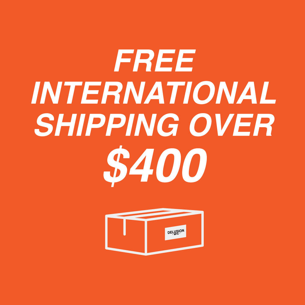 FREE SHIPPING Internationally? Yes, please!
