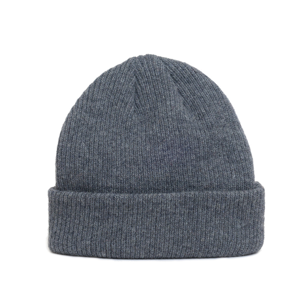 Dark Grey - Merino Wool Blank Beanie Hat for Wholesale or Custom c132a20315c