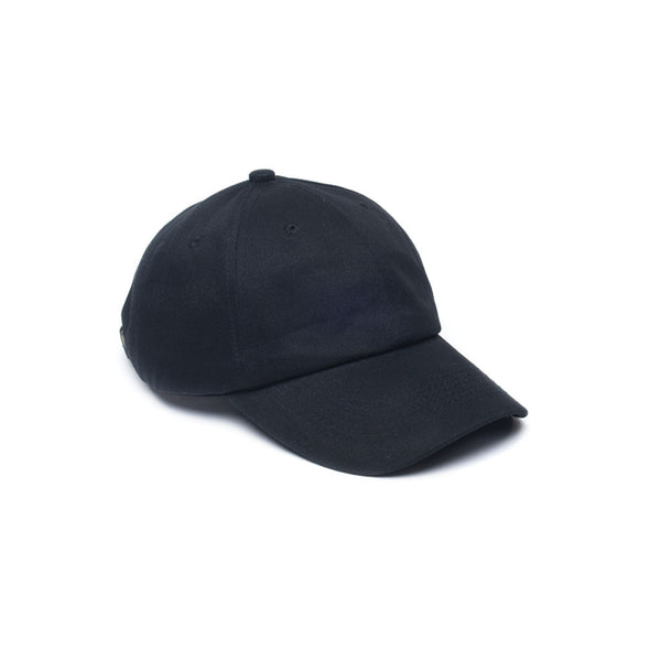 Blank Dad Caps Unconstructed Baseball Caps Black