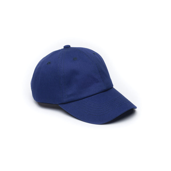Blank Dad Caps Unconstructed Baseball Caps Navy Dark Blue