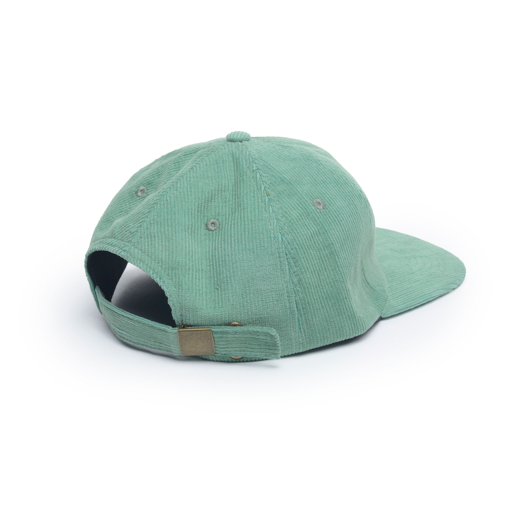 Mint - Corduroy Unconstructed Floppy 6 Panel Hat for Wholesale or Custom