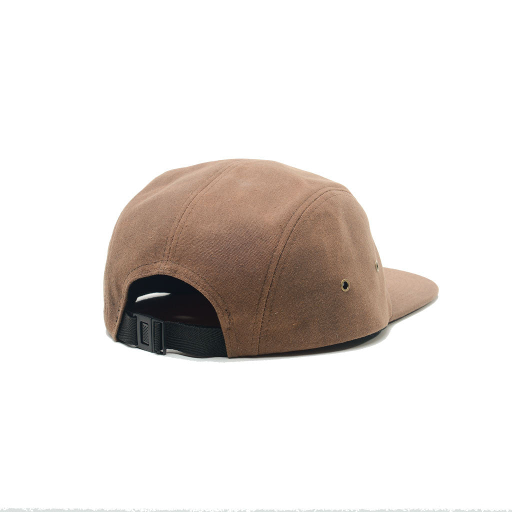 82f8029f9 Brown - Waxed Canvas Blank 5 Panel Hat