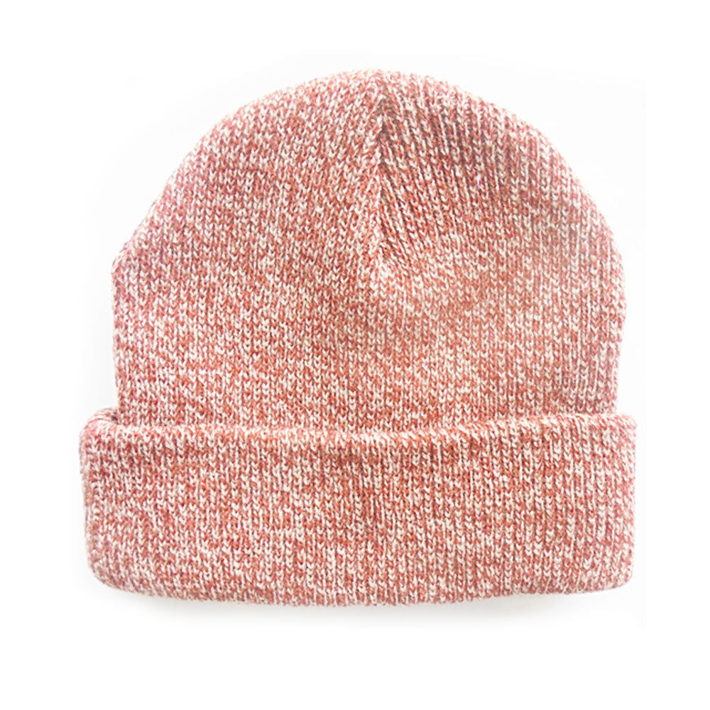 Salmon - Blank Mixed Beanie Hat for Wholesale or Custom 7c8f3413df5