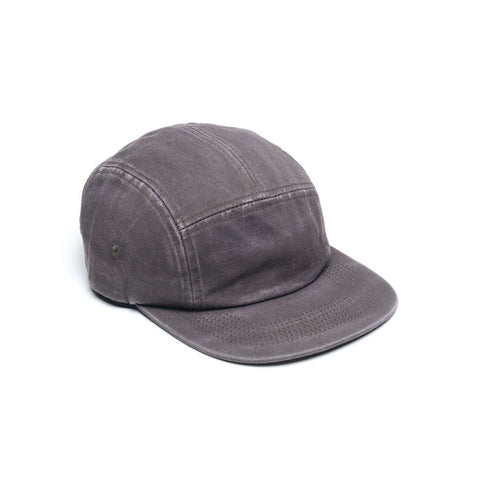 Faded Cotton Twill Blank 5 Panel - Slate Grey
