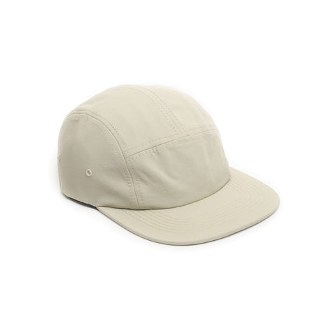 Tan - Nylon 5 Panel Hat for Wholesale or Custom