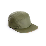 Army Green - Polyester Contrast Blank 5 Panel Hat for Wholesale or Custom