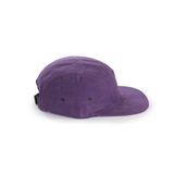 Purple Blank 5 Panel Camp Cap