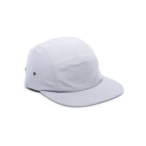 Light Grey - Ripstop Cotton Blank 5 Panel Hat for Wholesale or Custom