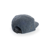 Dark Blue - Tweed Wool Blank 5 Panel Hat for Wholesale or Custom