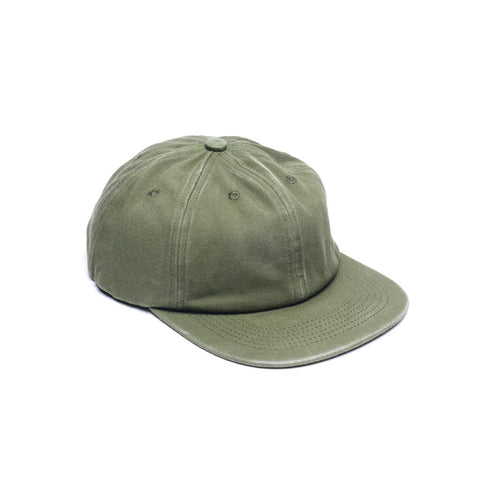 Unconstructed Floppy 6 Panels Hats Army Green