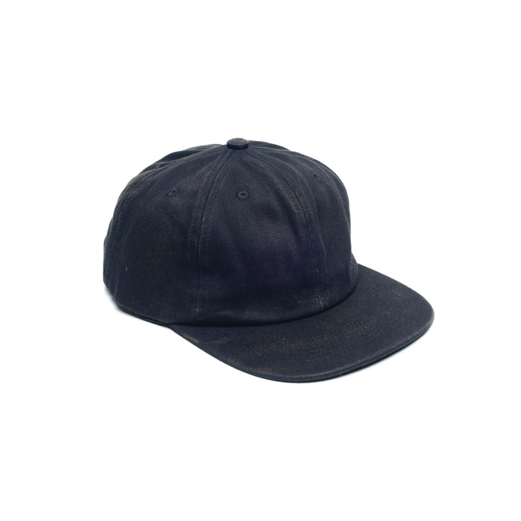 f48ac87b342 Black - Faded Unconstructed 6 Panel Hat for Wholesale or Custom