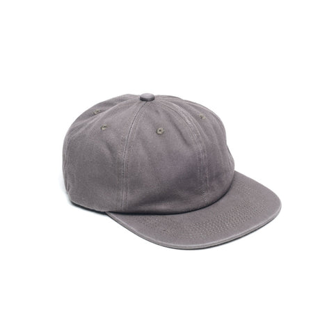 Unconstructed 6 Panel Floppy Hats Slate Grey