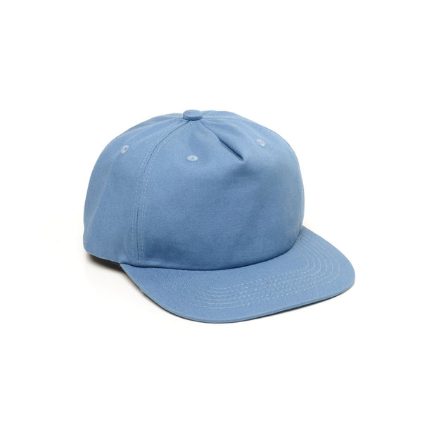Unconstructed Floppy Hats Caps Retro Strapback Light Blue