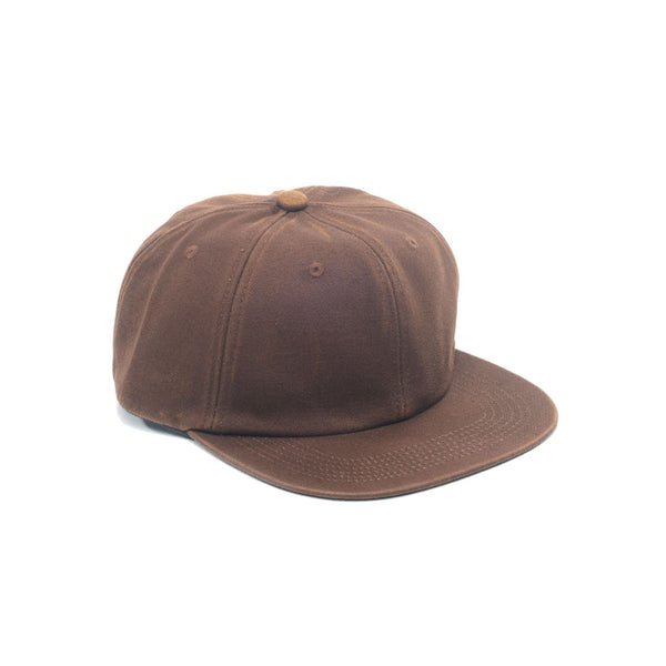 Faded Unconstructed 6 Panels - Chocolate Brown