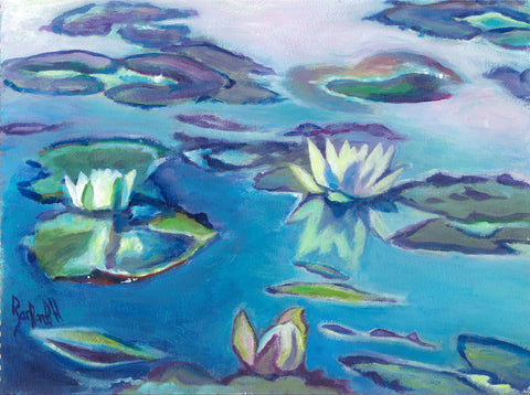 Late Summer Waterlilies