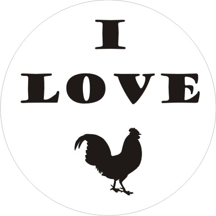 I Love Cock badge