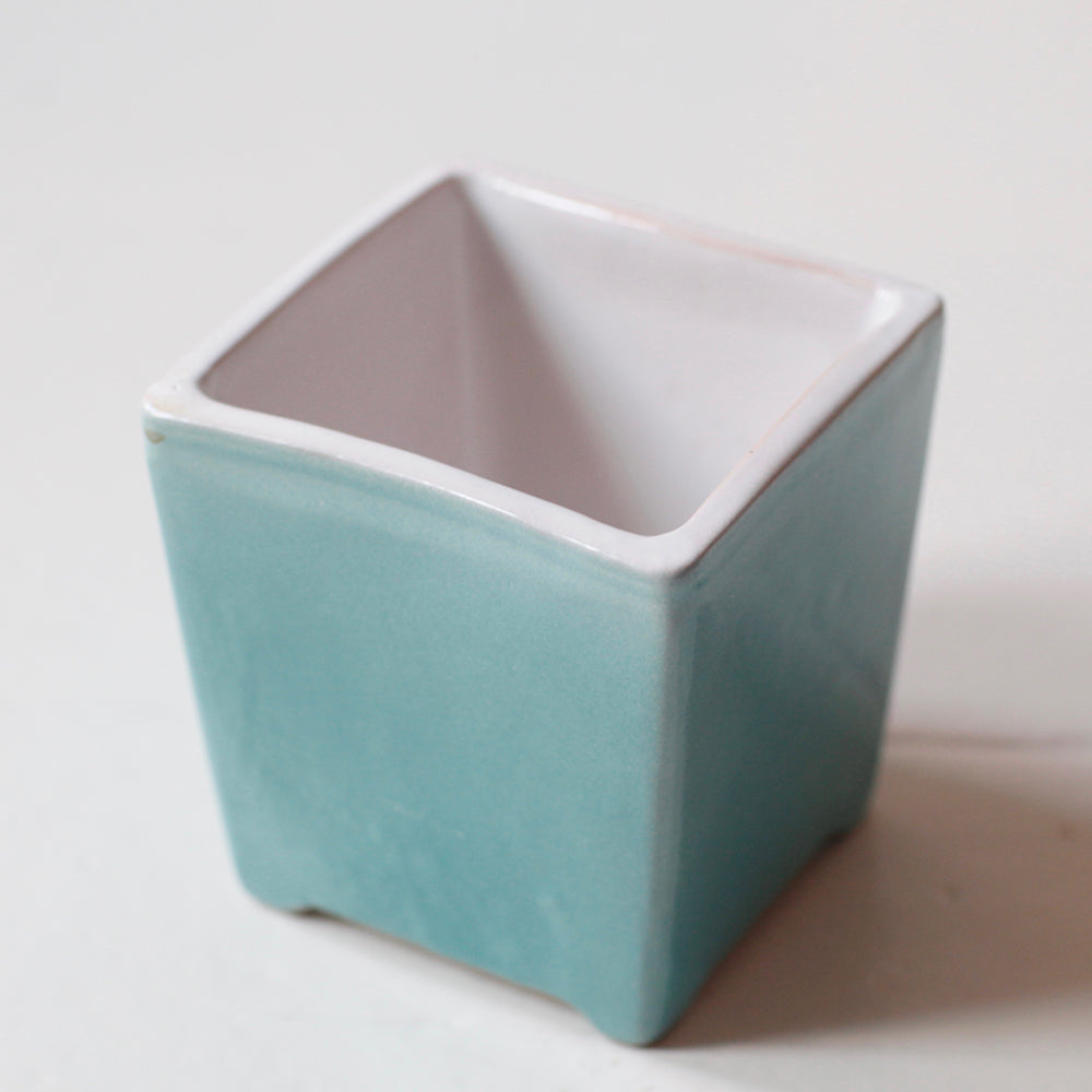 Herb Flower pot (Turquoise) (Sale)