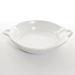 Tagine with handles - White