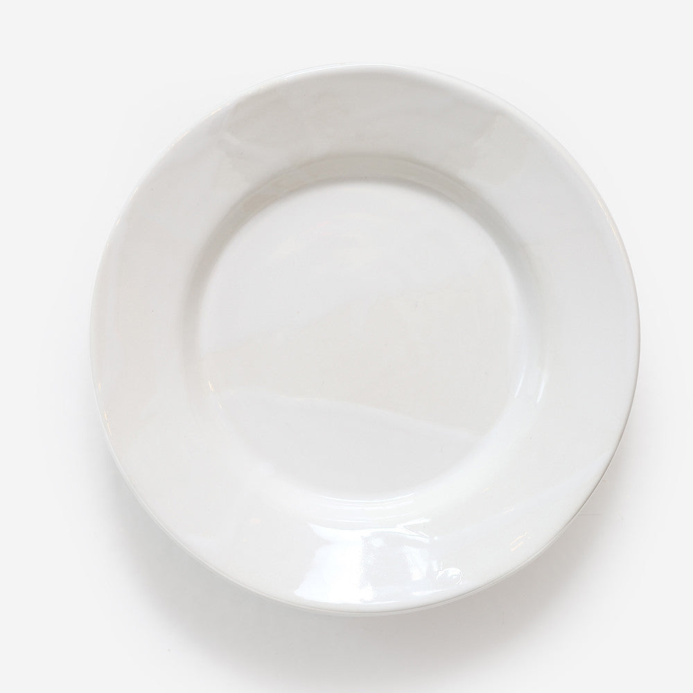 6x Small plate White