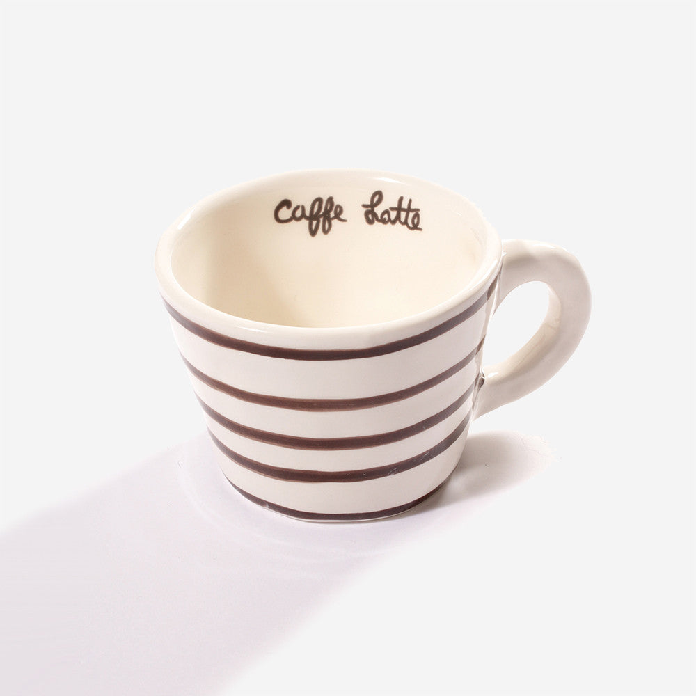 6x Low cup latte (Brown)