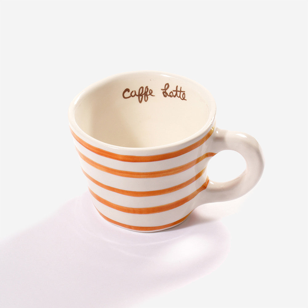 6x Low cup latte Orange