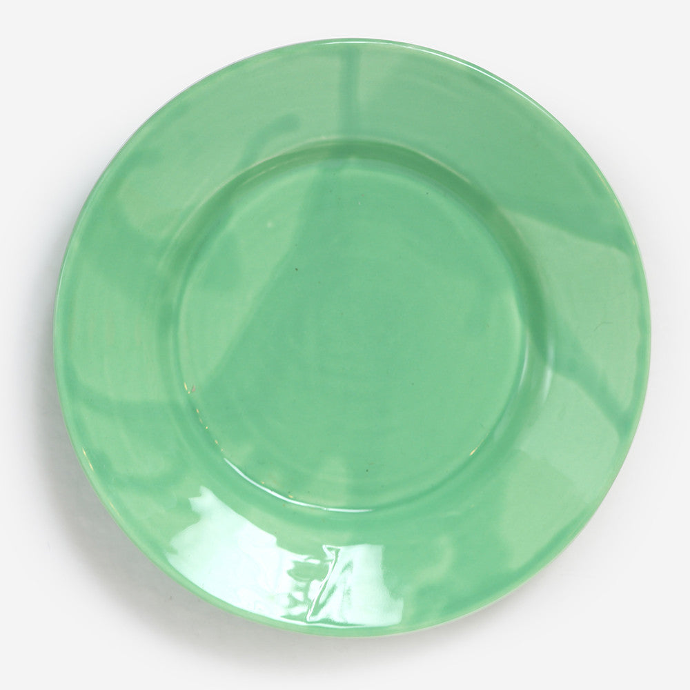6x Small plate Green