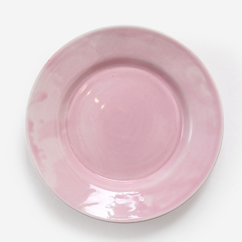 6x Small plate (Pink)