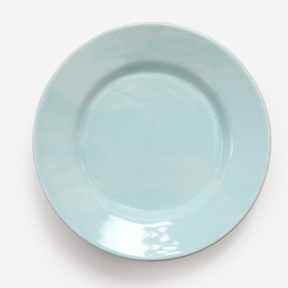 6x Small plate Turquoise