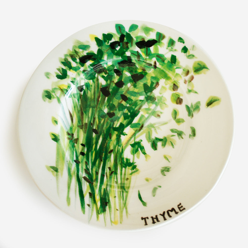 6x Plate Thyme