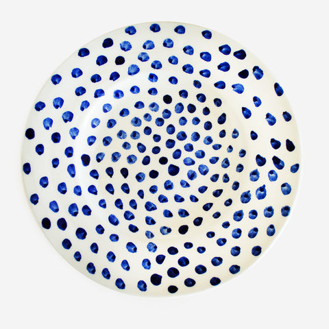 6x Plate Blue Dots (New)