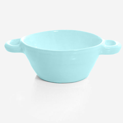 6x Soup pot /bowl ovensafe (Turquoise)