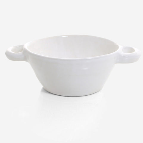 6x Soup pot /bowl ovensafe (White)