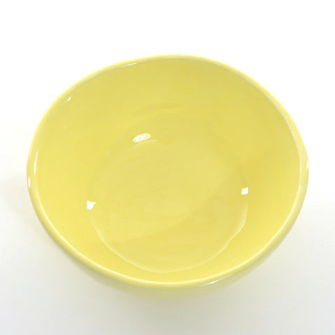6x New little bowl (Yellow)