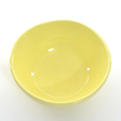 6x New little bowl Yellow