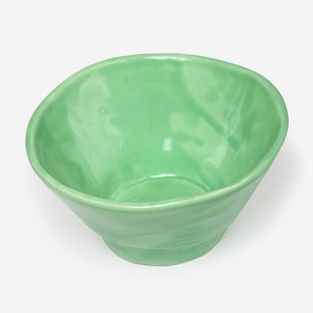 6x Small bowl Green