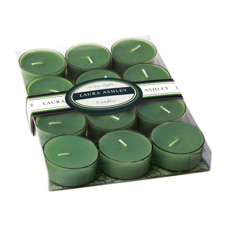 Unscented Green Tea Lights