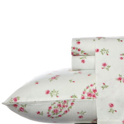 Bristol Paisley Flannel Sheet Set