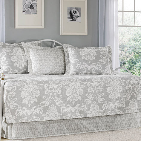 Venetia Gray Daybed Set