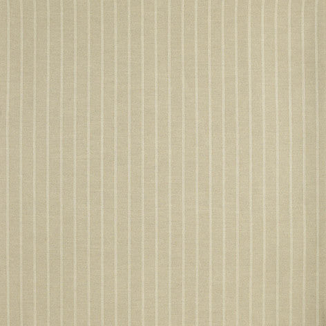 Beige Linen Striped Fabric