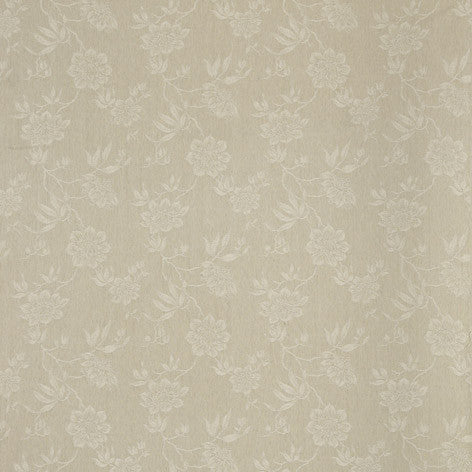Beige Floral Fabric