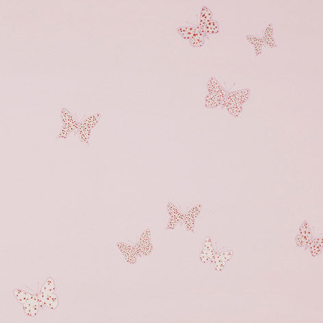 Bella Butterfly Pink Wallpaper