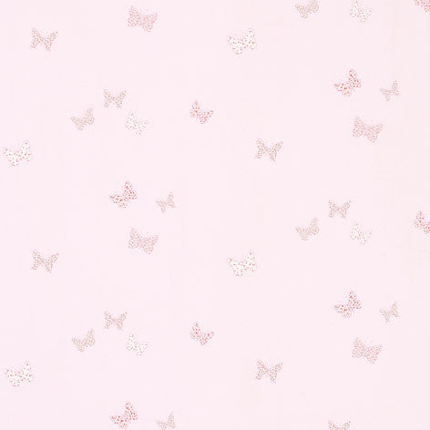Pink Butterfly Fabric